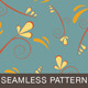 Fluer Seamless Flower Pattern - GraphicRiver Item for Sale