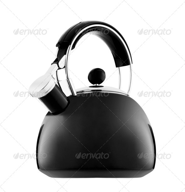 Kettle with whistle - Stock Photo - Images