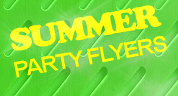 Stylish Summer Party Flyers