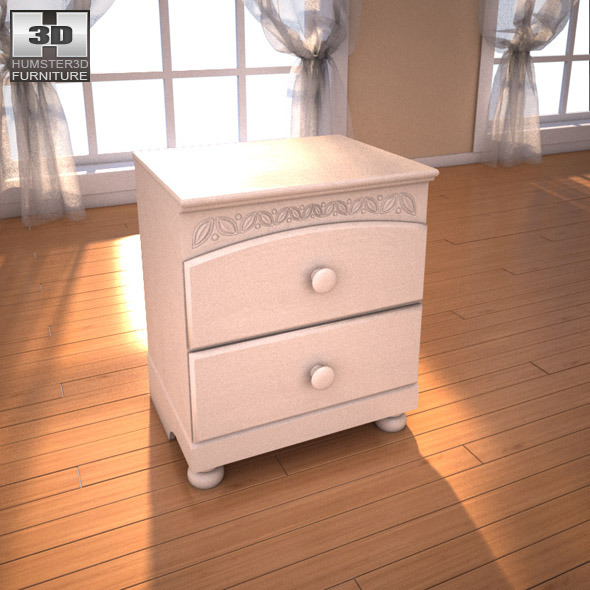 Ashley Cottage Retreat Sleigh Bedroom Set by humster3d 3DOcean