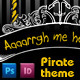 Pirate Theme Event Invitation - GraphicRiver Item for Sale