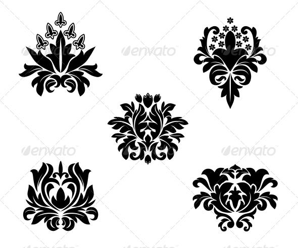 Flower Patterns - Decorative Symbols Decorative