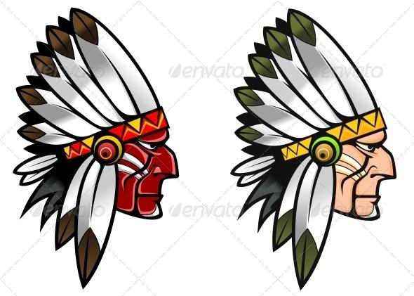 Indigenous People - People Characters