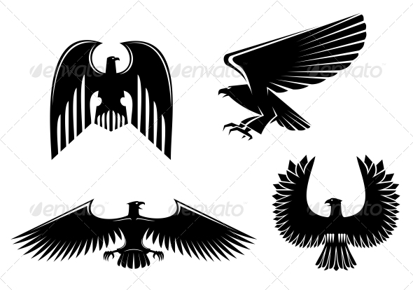 Eagle Symbols - Animals Characters