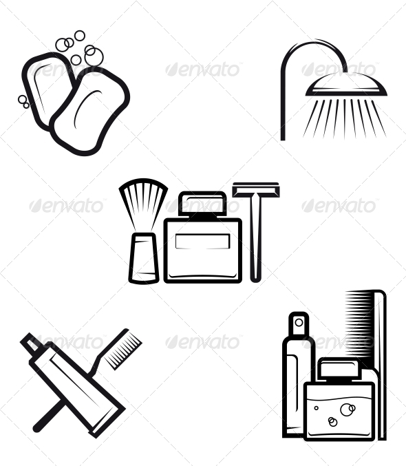 Hygiene Objects - Health/Medicine Conceptual