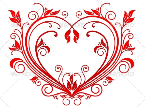 Valentine Heart - Decorative Symbols Decorative