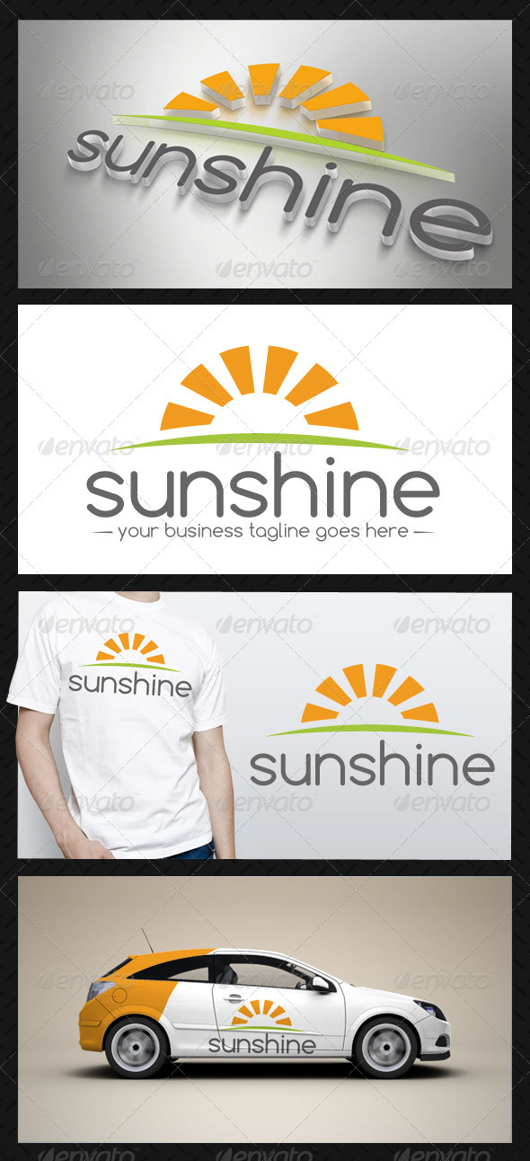 Sun Logo Template - Nature Logo Templates