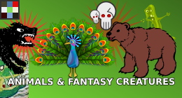 Animals & Fantasy Creatures