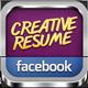 Creative Resume | FB Timeline Cover Kit - GraphicRiver Item for Sale