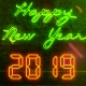 New Year Countdown 2019   Neon V2 - VideoHive Item for Sale