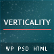 Verticality - Onepage Photography Theme Nulled