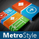 Metro Style Multipurpose Business Card - GraphicRiver Item for Sale