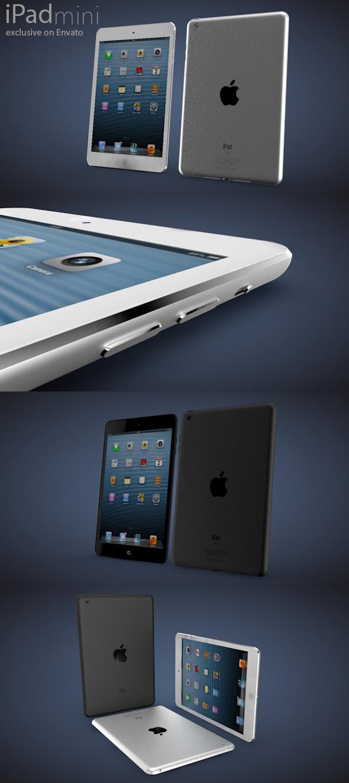 iPad mini - 3DOcean Item for Sale