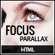 Focus Parallax One Page HTML Template Nulled