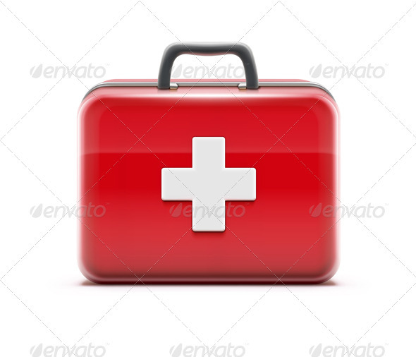 First Aid Box - Man-made Objects Objects