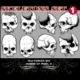 Skeletons Vector Set 1 - GraphicRiver Item for Sale
