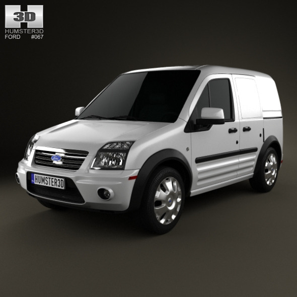 Ford Transit Connect SWB 2012 - 3DOcean Item for Sale