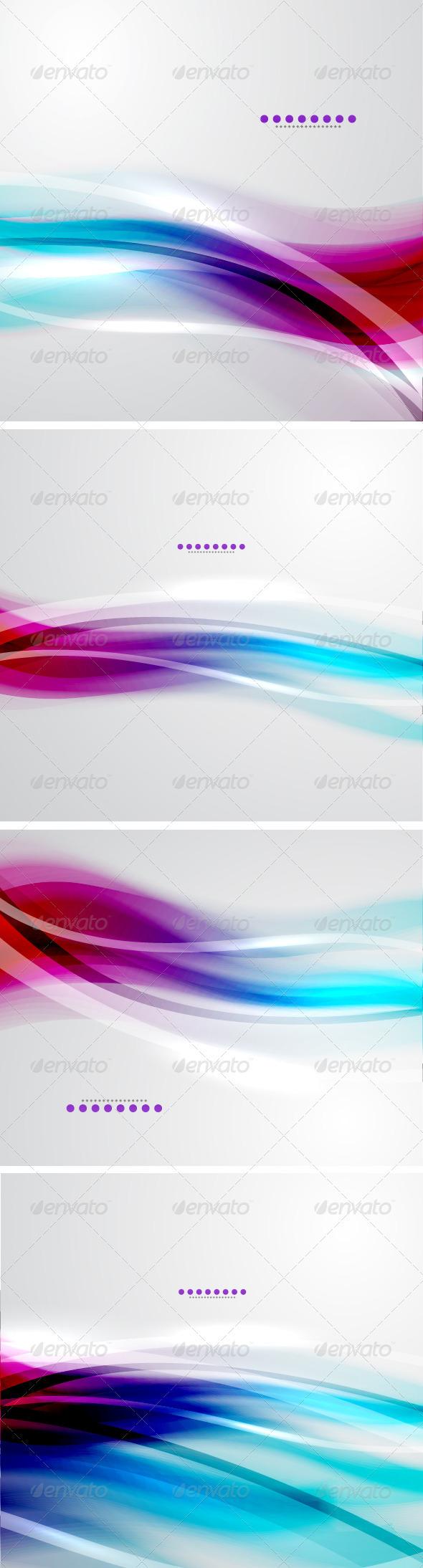 Vector Soft Light Backgrounds - Backgrounds Decorative