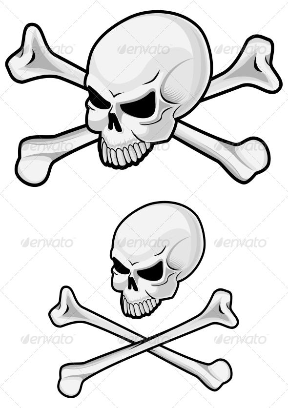 Danger Skull - Miscellaneous Vectors