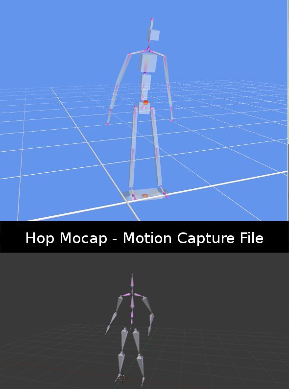 Hop Mocap - 3DOcean Item for Sale