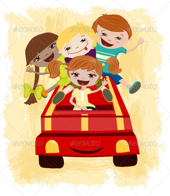 Children Driving