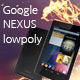 Google Nexus 7 Low Poly - 3DOcean Item for Sale