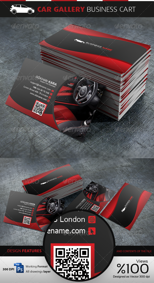 Car Gallery - Business Cardvisid - Creative Business Cards