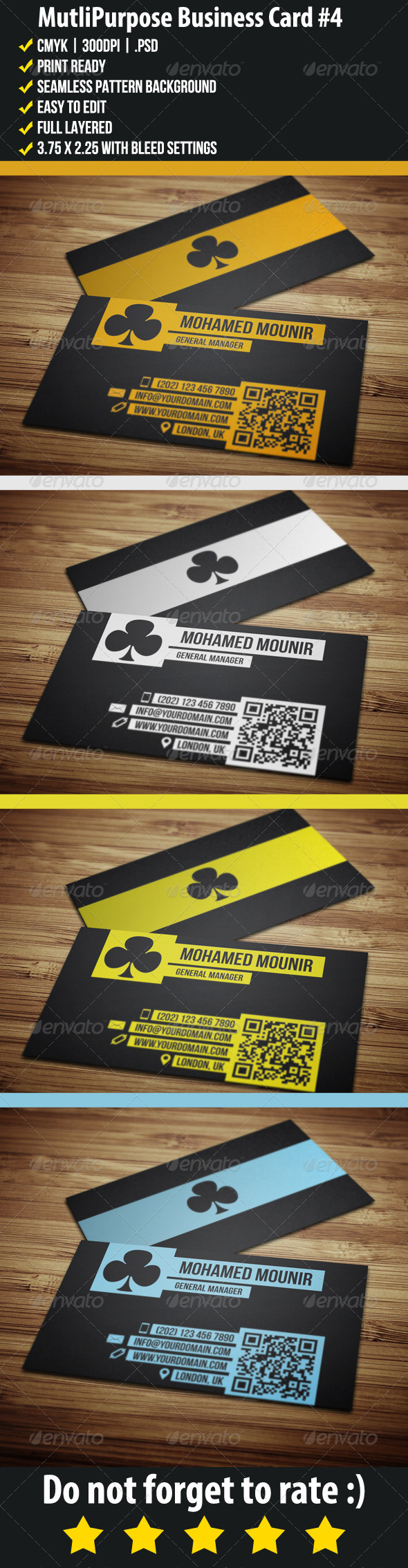 Multipurpose Business Card 4 - Creative Business Cards