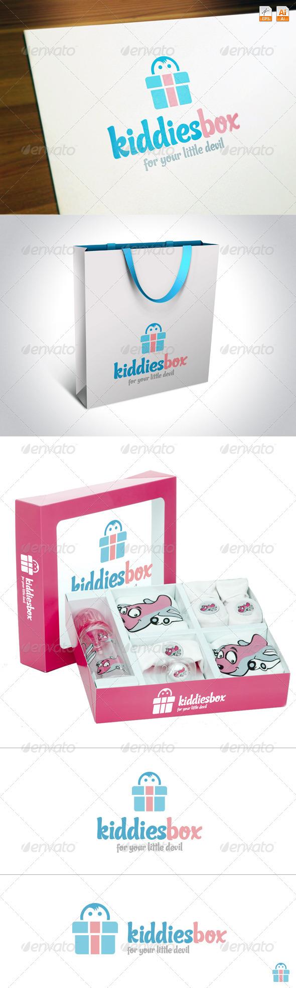 KiddiesBox - Humans Logo Templates