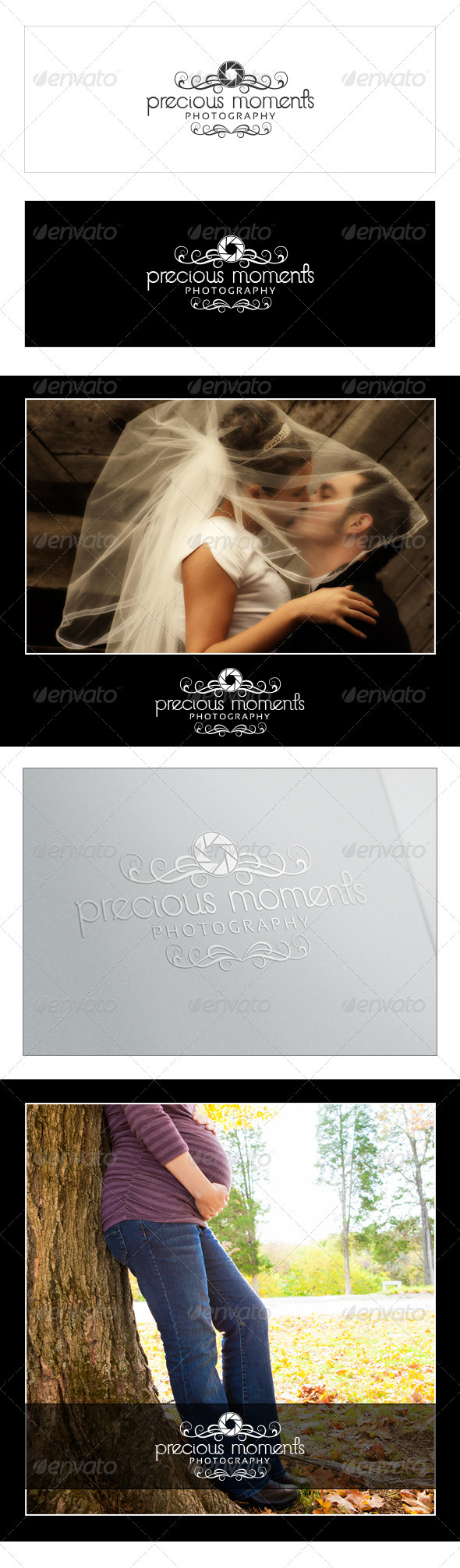 Precious Moments Photography Logo - Objects Logo Templates