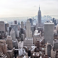 New York City skyline view from Rockefeller Center, New York, USA - PhotoDune Item for Sale