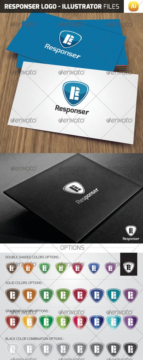 Responser Logo Template - Letters Logo Templates