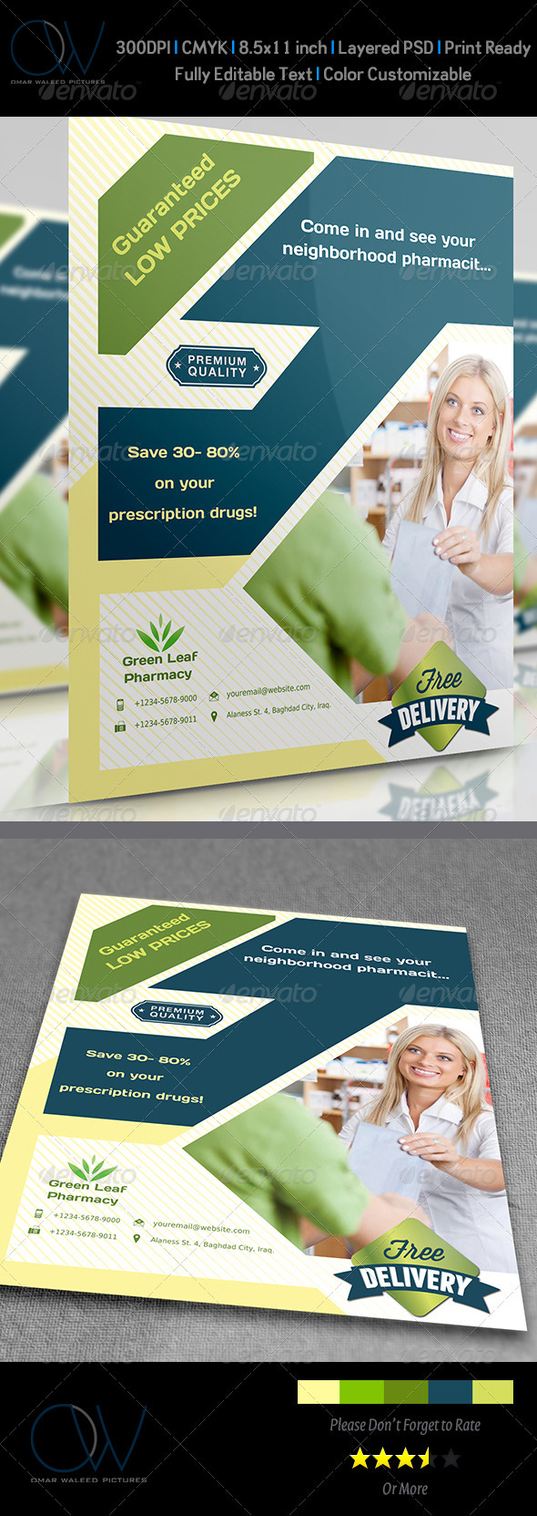 Pharmacy Flyer - Corporate Flyers