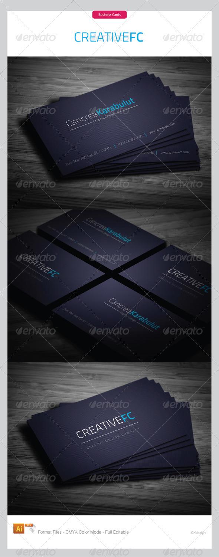 Corporate Business Cards 258 - Corporate Business Cards
