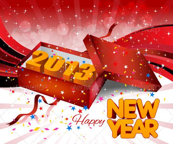 2013 Gift Box - New Year Seasons/Holidays