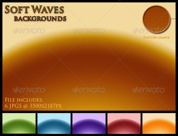 Soft Waves Backgrounds - Patterns Backgrounds