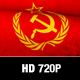 Soviet Flag Motion Loop - VideoHive Item for Sale
