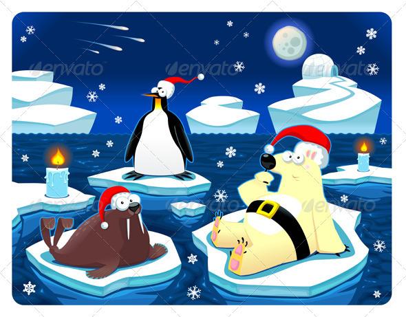 Christmas at the North Pole - Christmas Seasons/Holidays