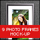 Photo Frames Mock-up - GraphicRiver Item for Sale