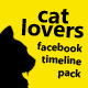 Cat Lovers FB Timeline - GraphicRiver Item for Sale