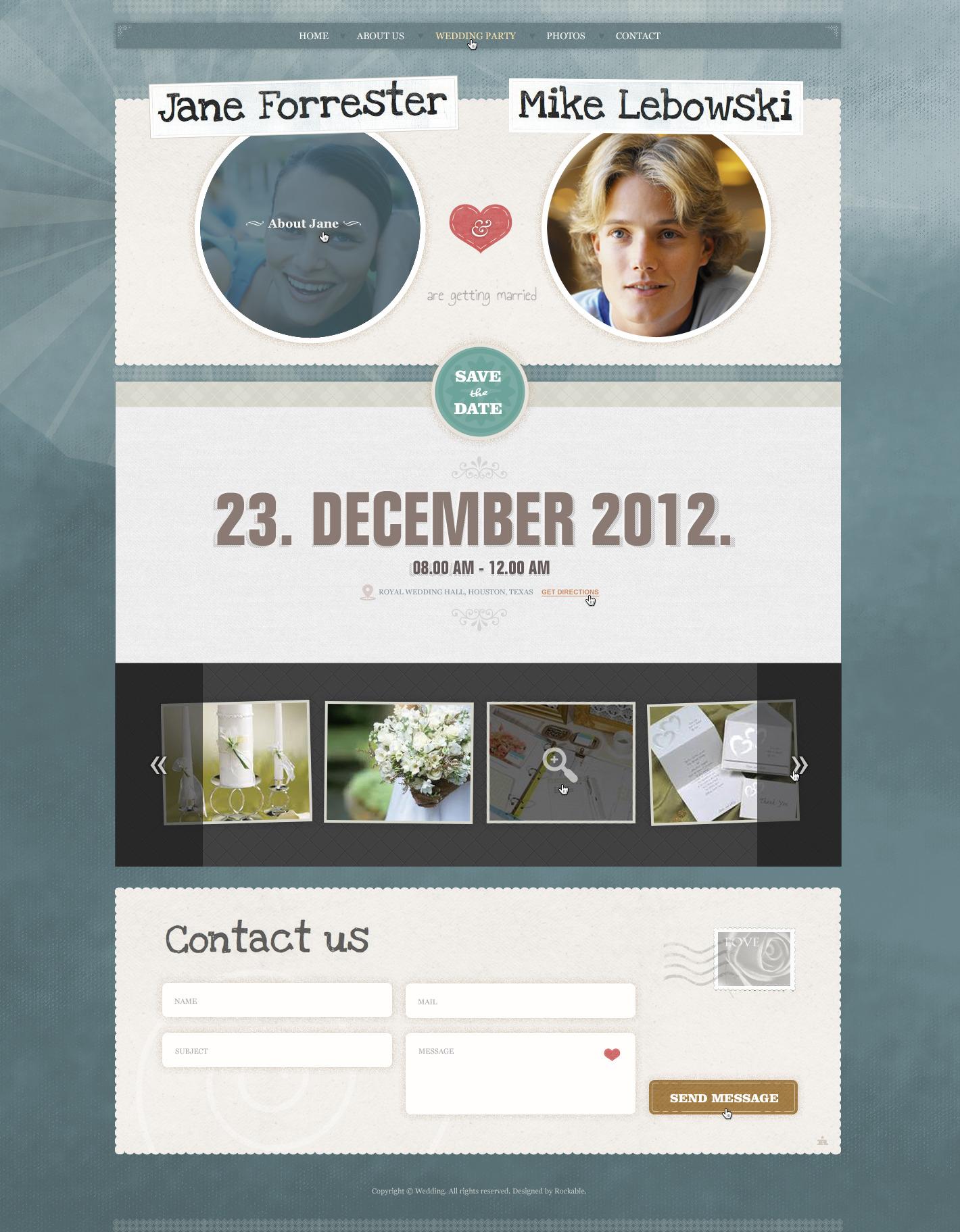 Wedding invite by rockable themeforest wedding invite stopboris Image collections