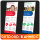 Multipurpose Corporate Banner Signage, Outdoor Ad - GraphicRiver Item for Sale