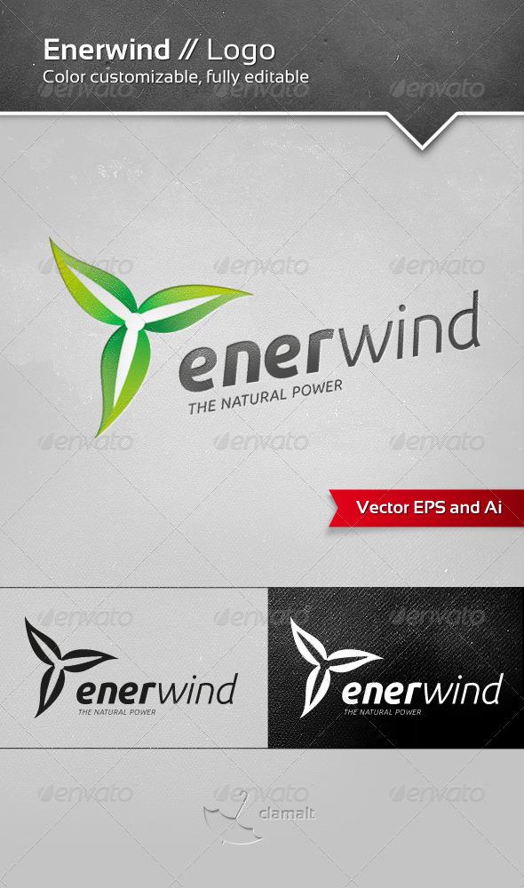 Enerwind Logo - Nature Logo Templates