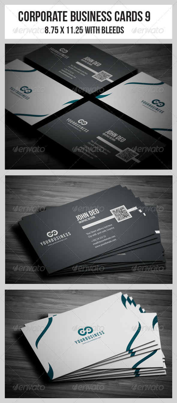 Corporate Business Cards 9 - Corporate Business Cards