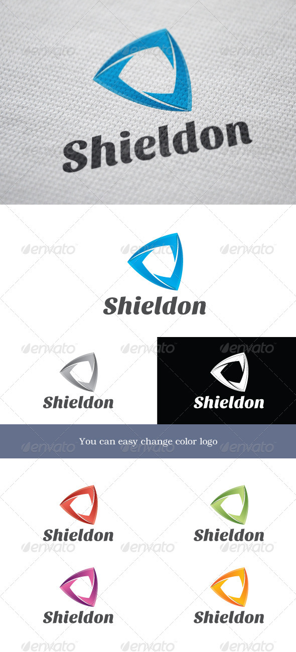 Shieldon Logo - Objects Logo Templates
