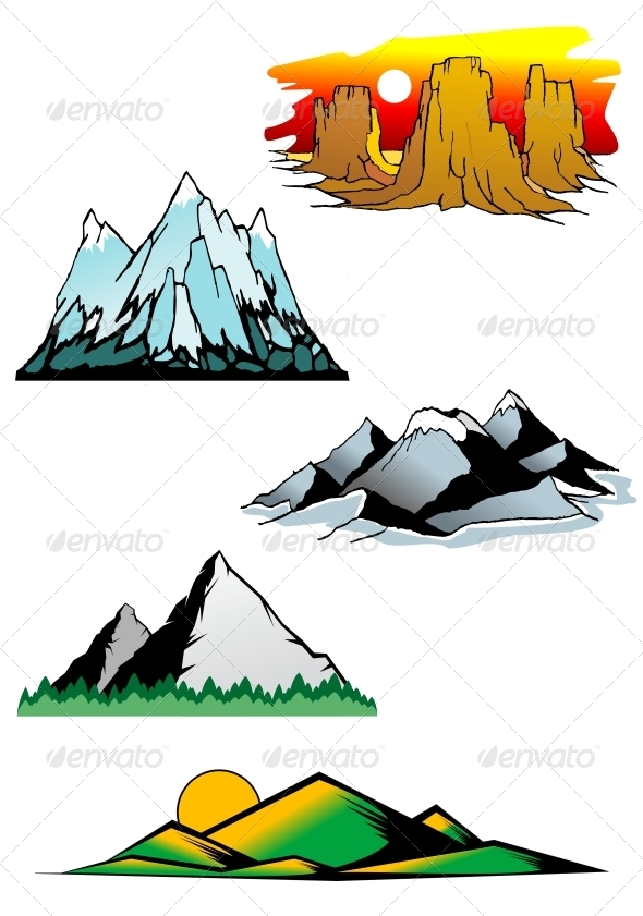 Mountain Peaks - Landscapes Nature