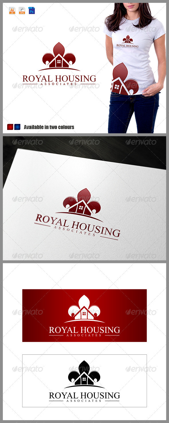 Royal Housing Associates Logo - Buildings Logo Templates