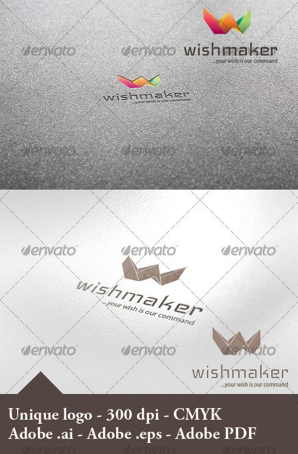 Wishmaker Logo - Letters Logo Templates