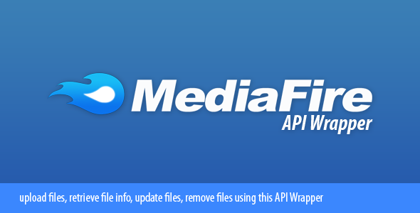 MediaFire API Wrapper - CodeCanyon Item for Sale
