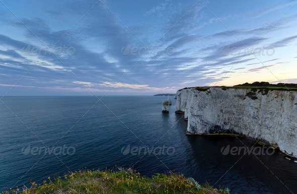 Old Harry Rocks - Stock Photo - Images